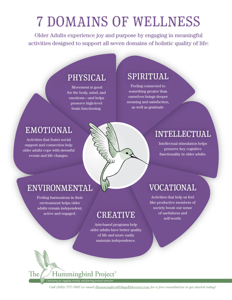7 domains of wellness